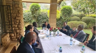 NCIC meets European Union and European Centre for Electoral Support (ECES) as part of plans to deliver peaceful 2022 General Elections