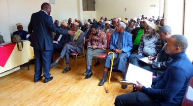 A mission to reconcile the Borana and Aulian Communities