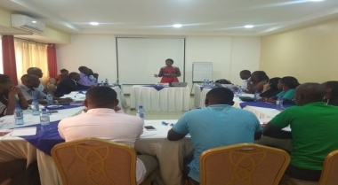 Training on the Study of Distribution of County Government Resources