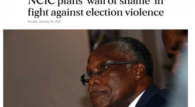 NCIC plans 'wall of shame' in fight against election violence
