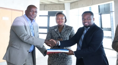 New NCIC Offices Groundbreaking Ceremony