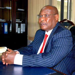 Hon. Francis Ole Kaparo, Commission Chairman