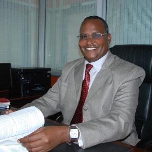 Dr. Roba D. Sharamo - Commissioner