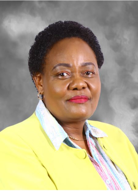 Commissioner, Hon. Dorcas L. Kedogo