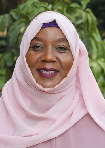 The Late Commissioner Fatuma S. Tabwara ( Vice Chairperson)